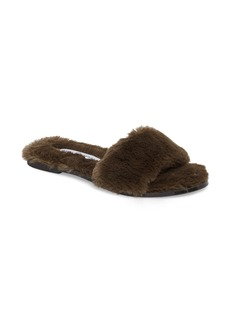 Chinese Laundry Mulholland Faux Fur Slide Sandal (Women)