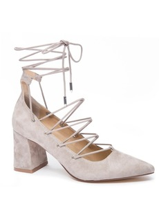 Chinese Laundry Odelle Block Heel Pumps Women's Shoes