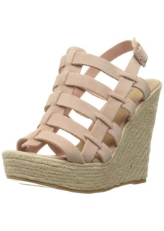 Chinese Laundry Women's Dance Party Espadrille Wedge Sandal  9 M US