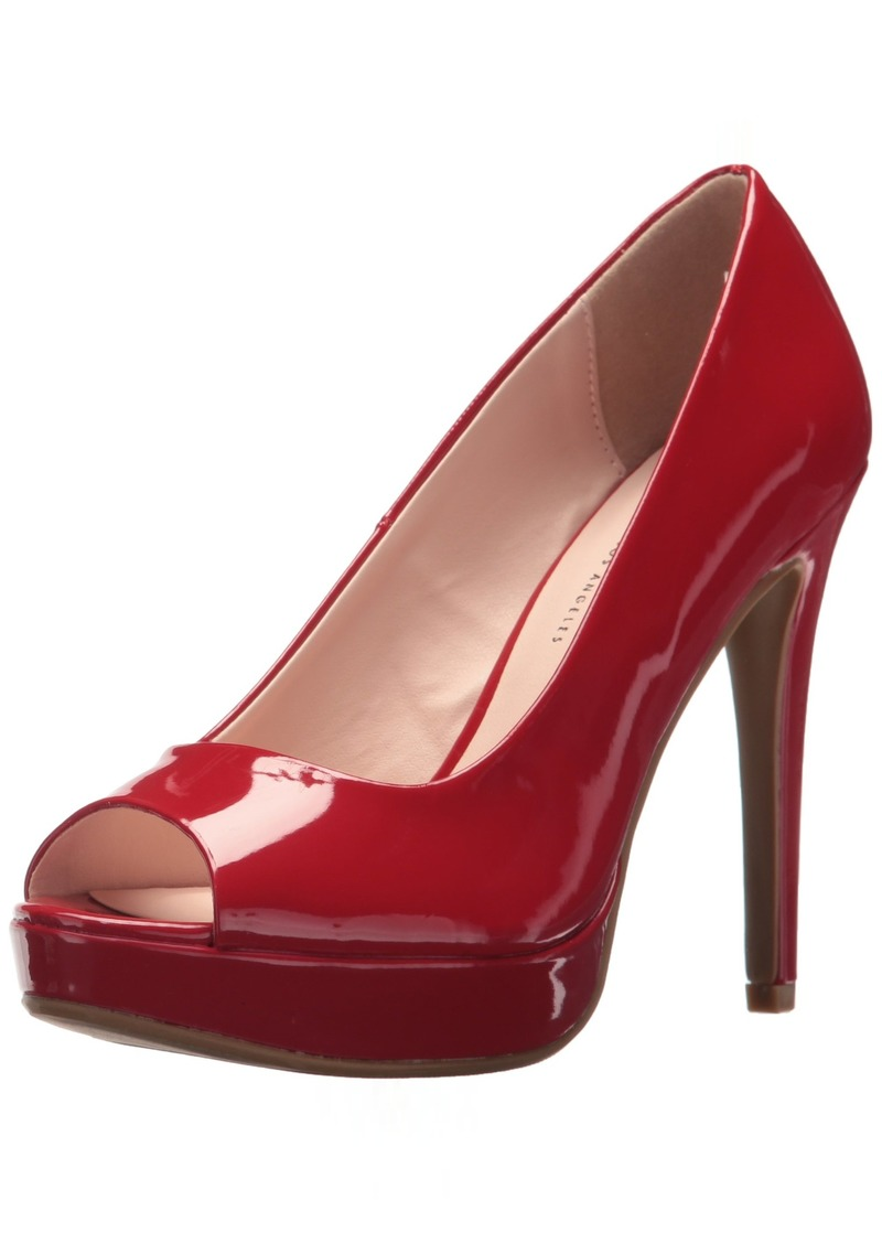 Chinese Laundry Women's Holliston Pump red Patent  M US