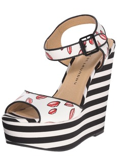 Chinese Laundry Women's Jollypop Wedge Sandal  8 M US