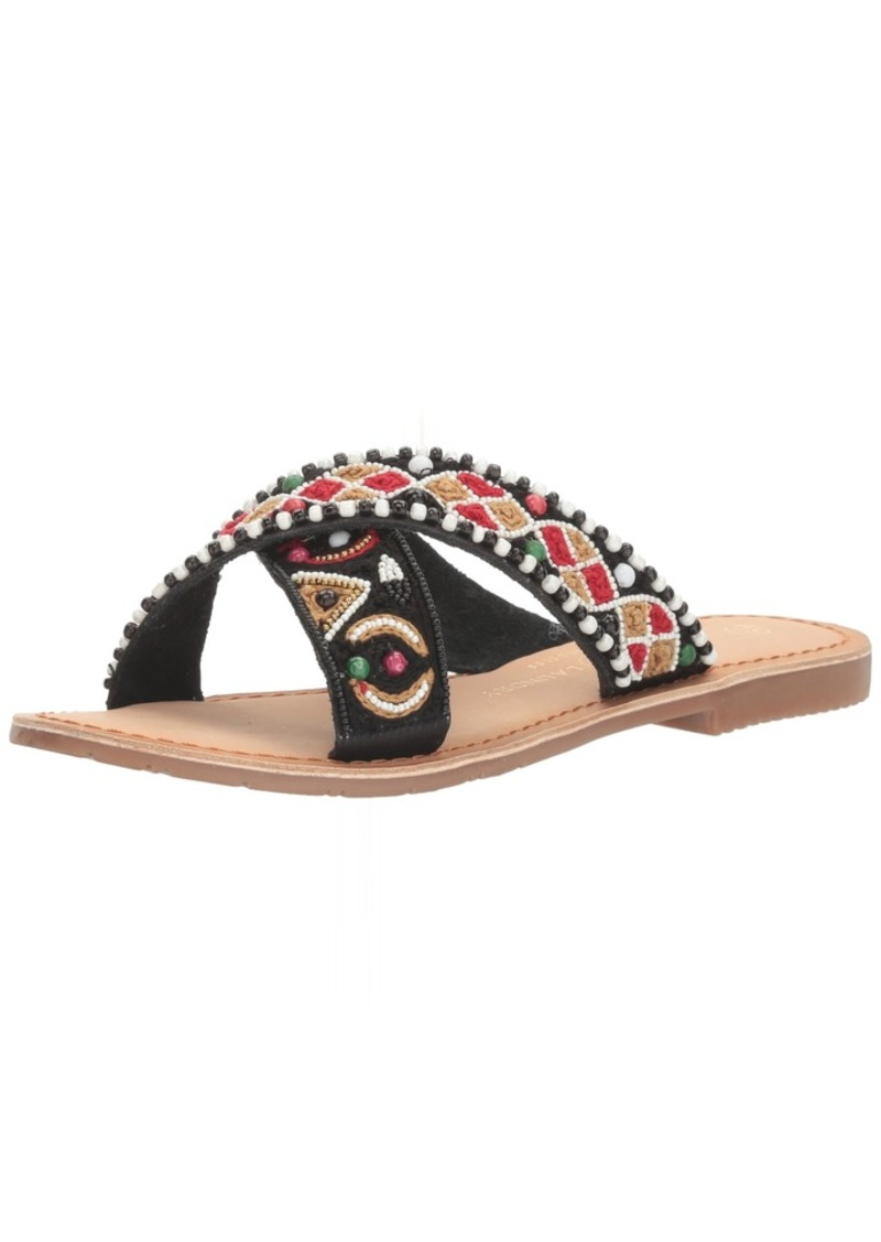 Chinese Laundry Women's Purfect Beaded Slide Sandal    M US