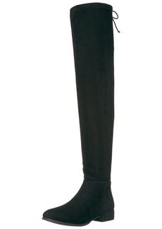 Chinese Laundry Women's Rashelle Riding Boot black suede  M US