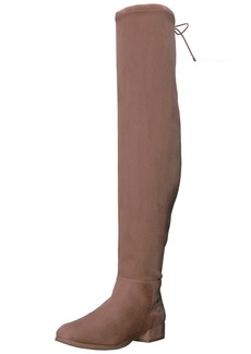 Chinese Laundry Women's Rashelle Riding Boot mink suede  M US