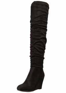 Chinese Laundry Women's UMA Over The Over The Knee Boot   M US
