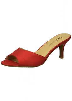 CL by Chinese Laundry Women's Jasper Pump red Organza  M US
