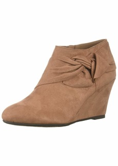 CL by Chinese Laundry Women's Viveca Ankle Boot DEEP Rose Suede  M US