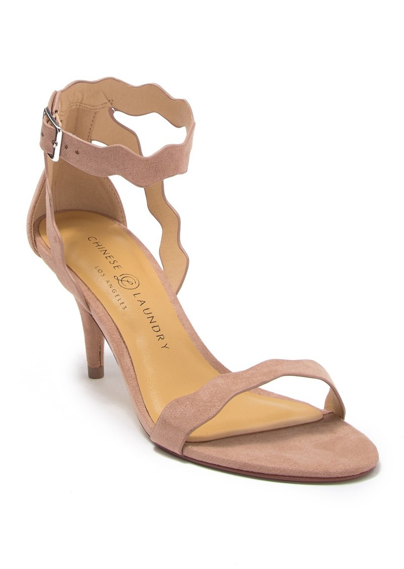 Chinese Laundry Rubie Scalloped Ankle Strap Sandal