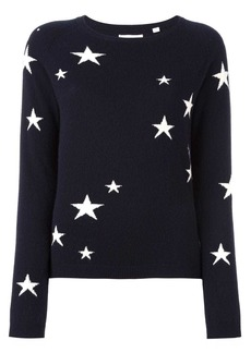 Chinti and Parker cashmere star intarsia sweater