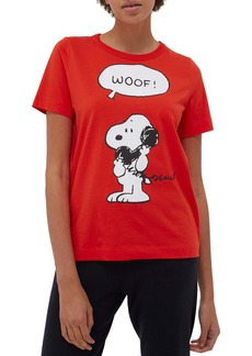 Chinti and Parker Chinti & Parker x Peanuts® Snoopy Woof Graphic Tee