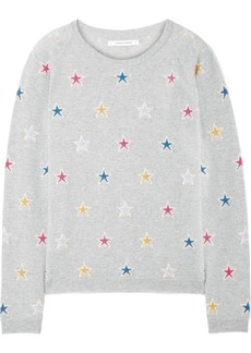 Chinti and Parker Acid Star cashmere sweater