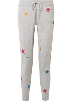 Chinti and Parker Acid Star Cashmere Track Pants
