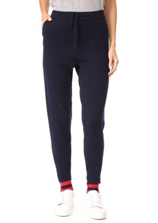 Chinti and Parker Love Cashmere Track Pants