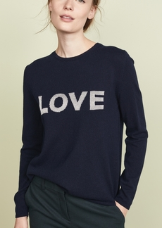 Chinti and Parker Metallic Love Wool Sweater