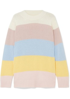 Chinti and Parker Neopolitan striped cashmere sweater