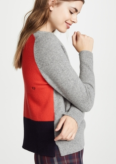 Chinti and Parker Ribbed Back Cashmere Sweater