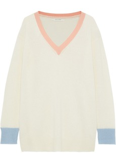 Chinti And Parker Woman Cashmere Sweater Cream