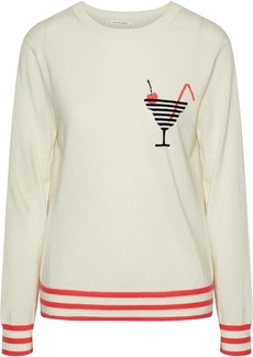 Chinti And Parker Woman Intarsia Cashmere Sweater Ivory