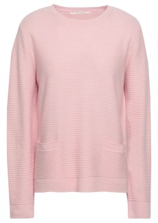 Chinti And Parker Woman Ribbed Wool And Cashmere-blend Sweater Baby Pink