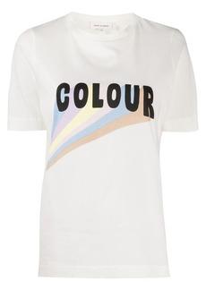 Chinti and Parker Colour print organic cotton T-shirt