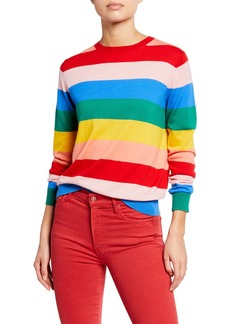 Chinti and Parker Day Dreamer Striped Cashmere Sweater