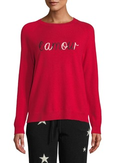 Chinti and Parker L'Amour Wool-Cashmere Pullover Sweater