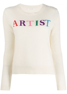 Chinti and Parker long-sleeve knitted jumper