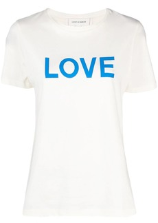 Chinti and Parker love print T-shirt