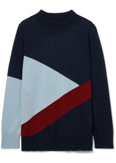 Chinti and Parker Mexicano Turtleneck Wool And Cashmere-blend Sweater
