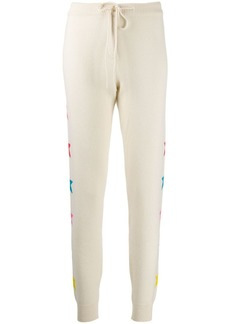 Chinti and Parker star print knitted trousers