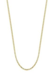 """Chloé 14K Gold Vermeil Box Chain Necklace/18"""""""