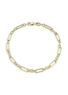 Chloé 18K Gold Vermeil Paperclip Chain Bracelet