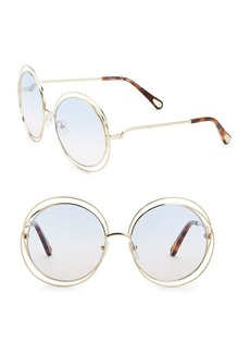 Chloé 38073 62MM Round Sunglasses