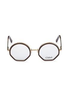 Chloé 50MM Round Optical Glasses
