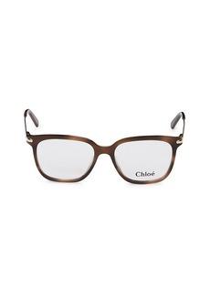 Chloé 52MM Square Optical Glasses