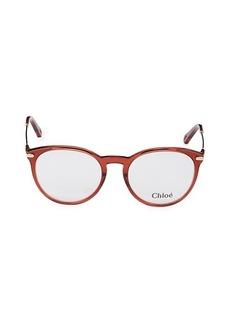 Chloé 53MM Oval Optical Glasses