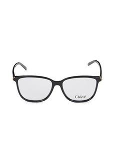 Chloé 53MM Square Optical Glasses