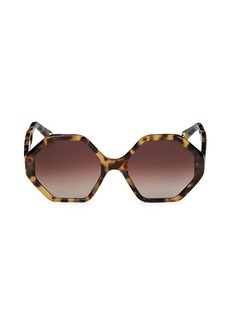 Chloé 58MM Octagon Sunglasses