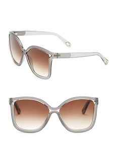 Chloé 58MM Rita Soft Square Sunglasses