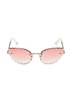 Chloé 60MM Cat Eye Sunglasses
