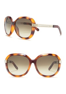Chloé 60mm Round Sunglasses