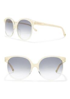 Chloé 60mm Round Sunglasses