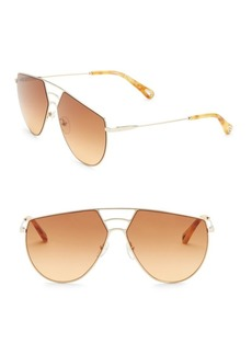 Chloé 62MM Ricky Gold Metal Sunglasses