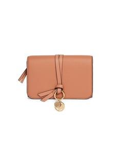 Chloé Alphabet Leather Wallet