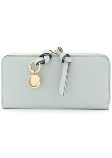 Chloé Alphabet zip around wallet
