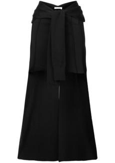 Chloé asymmetric belted skirt