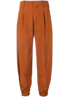 Chloé balloon leg cropped trousers