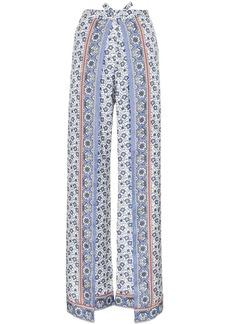 Chloé bandanna print split trousers