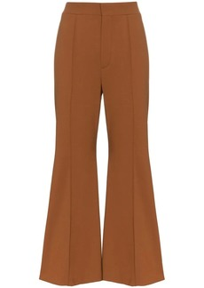 Chloé bell bottom trousers