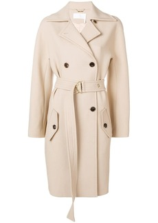 Chloé belted double-breasted coat